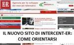 Il nuovo sito di Intercent-ER: come orientarsi