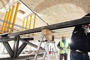 Lavoratori costruzione - restauri