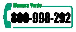 numero verde 800 998 292