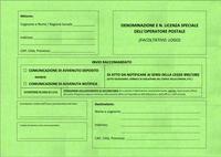 Servizio di notificazione tramite servizio postale di atti giudiziari e di sanzioni al Codice della Strada: consultazione preliminare di mercato